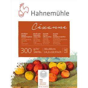 Bloco Aquarela Cezanne 300 G/m² Grain Tourchon 36 X 48 Cm com 10 Folhas Hahnemuhle