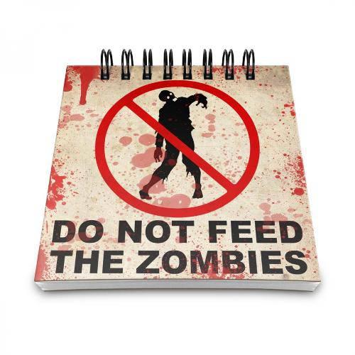 Bloco de Anotações do Not Feed The Zombies