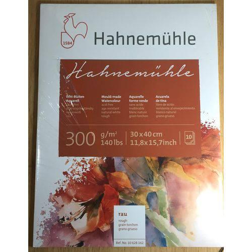 Bloco Pintura Hahnemuhle Aquarela 30x40cm 300gr R 10fls