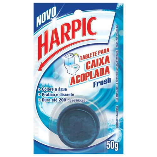 Bloco Sanit Harpic C.Acoplad 50g