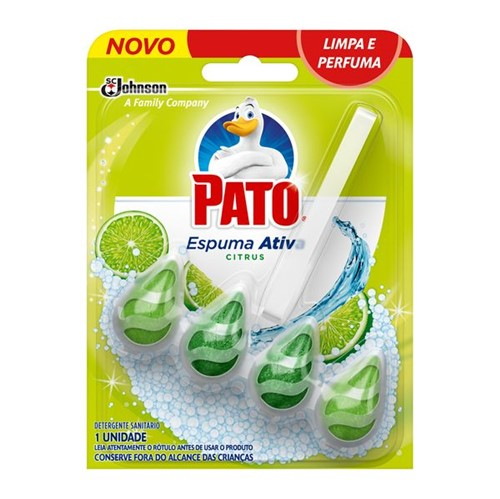 Bloco Sanitário Pato Espuma Ativa Citrus