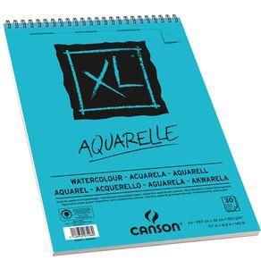 Bloco XL Aquarelle 300 G/m² A-3 29,7 X 42,0 Cm com 30 Folhas Canson