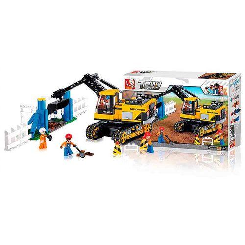 Blocos Construcao Escavadeira 614pcs - BR830 BR830