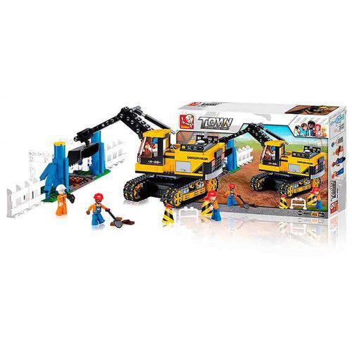Blocos Construção Escavadeira 614pcs BR830