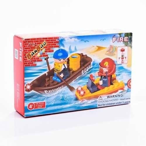 Blocos de Montar Barco 8025 Banbao