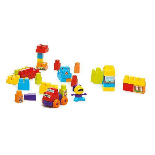 Blocos de Montar Calesita Super Blocks Sacola 97 Peças