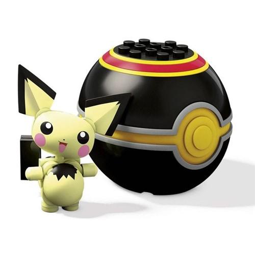 Blocos Mega Construx Pokémon FPM00 Mattel Pichu Pichu