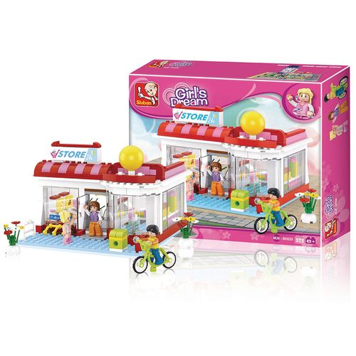 Blocos New Girls Dream Supermercado 289 Pcs Multikids - BR903 BR903