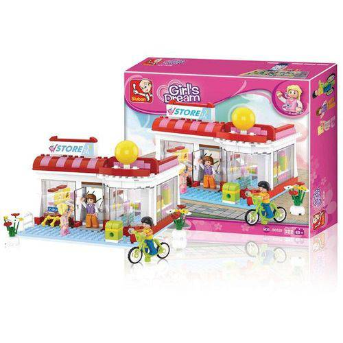 Blocos New Girls Dream Supermercado 289 Pcs