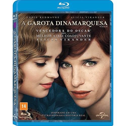 Blu-Ray a Garota Dinamarquesa