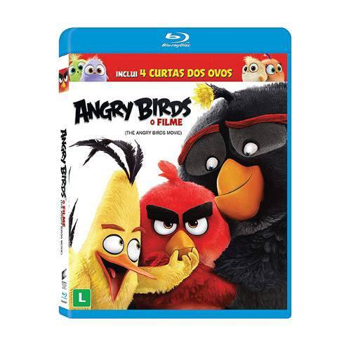 Blu-Ray - Angry Birds: o Filme
