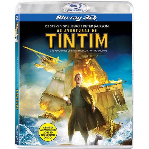 Blu-ray as Aventuras de Tintim (3D)