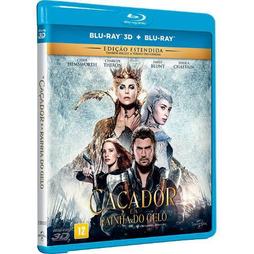 Blu-Ray + Blu-Ray 3d - o Caçador e a Rainha do Gelo - Edição Estendida