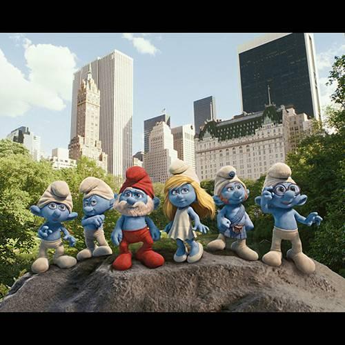 Blu-Ray + Blu-ray 3D os Smurfs + DVD Conto de Natal + Digital Copy