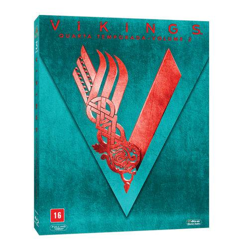 Blu-Ray Box - Vikings - 4ª Temporada - Volume 2