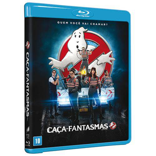 Blu-Ray - Caça-Fantasmas (2016)