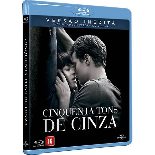 Blu-ray - Cinquenta Tons de Cinza