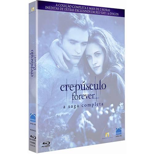 Blu-ray Crepúsculo Forever - a Saga Completa (6 Discos)