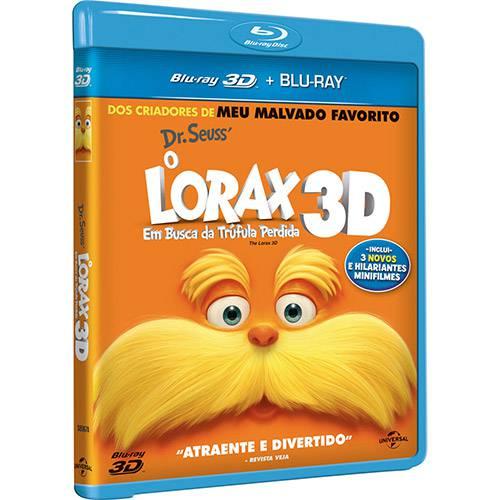Blu-ray 3D o Lorax - em Busca da Trúfula Perdida