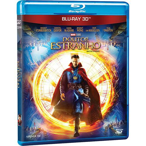 Blu-ray Doutor Estranho 3D