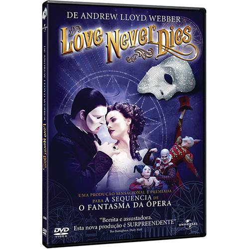 Blu-ray Love Never Dies
