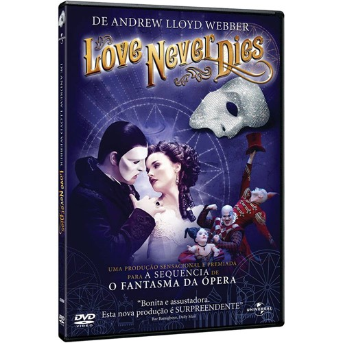 Blu-ray - Love Never Dies