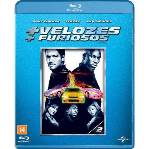 Blu-Ray - Mais Velozes, Mais Furiosos