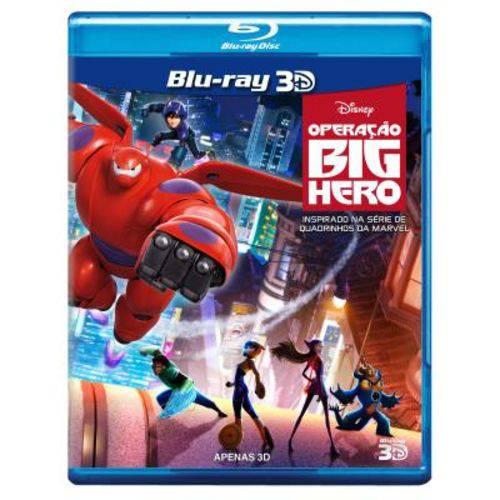 Blu-ray - Operação Big Hero 3D