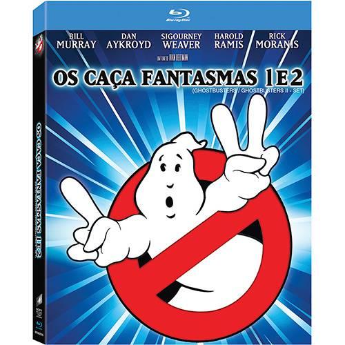 Blu-ray - os Caça-Fantasmas 1 e 2