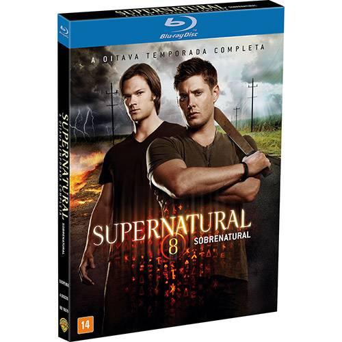 Blu-Ray Supernatural 8ª Temporada (4 Discos)