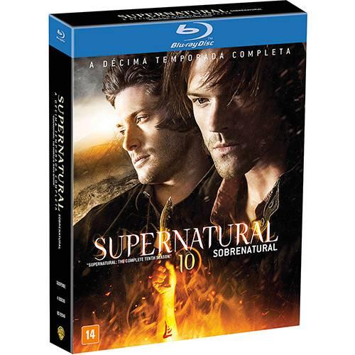 Blu-ray - Supernatural: Sobrenatural - a 10ª Temporada Completa