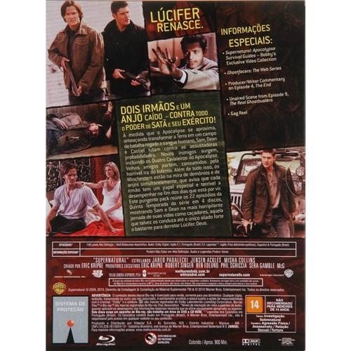 Blu-ray - Supernatural: Sobrenatural - a 5ª Temporada Completa