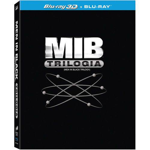 Blu Ray Trilogia MIB: (4 Discos) Will Smith
