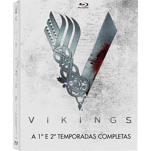 Blu-ray - Vikings: a 1ª e 2ª Temporadas Completas (6 Discos)