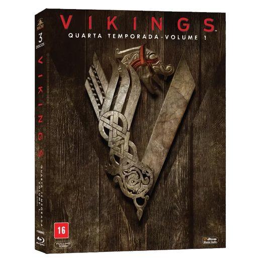 Blu-Ray Vikings - Quarta Temporada Vol 1 (3 Bds)