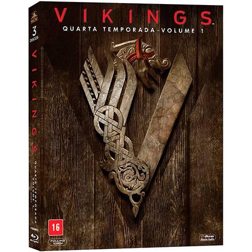 Blu-ray - Vikings: Quarta Temporada - Volume 1