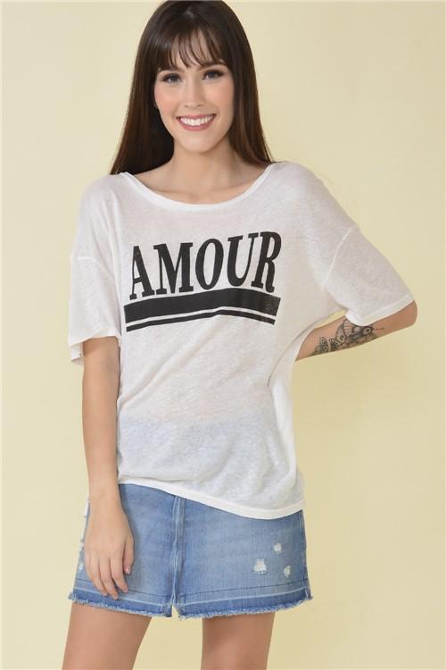 Blusa Amour - Off White Tamanho: M