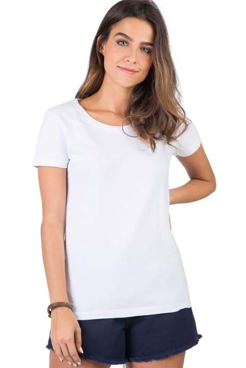 Blusa Básica Branco BRANCO/G