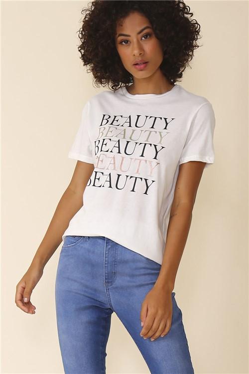 Blusa Beauty - Off White Tamanho: M
