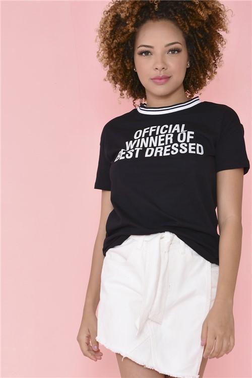Blusa Best Dressed - Preto Tamanho: P