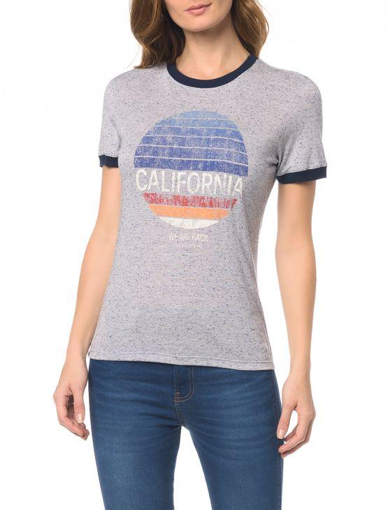 Blusa CKJ Fem California - P