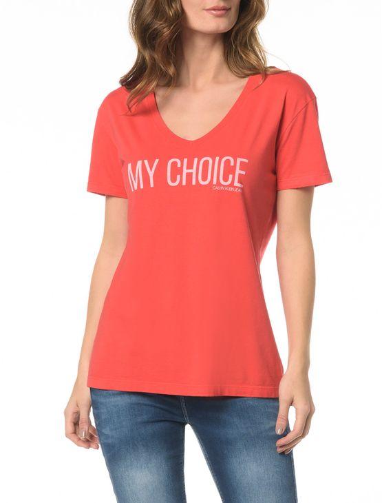 Blusa CKJ Fem My Choice - PP