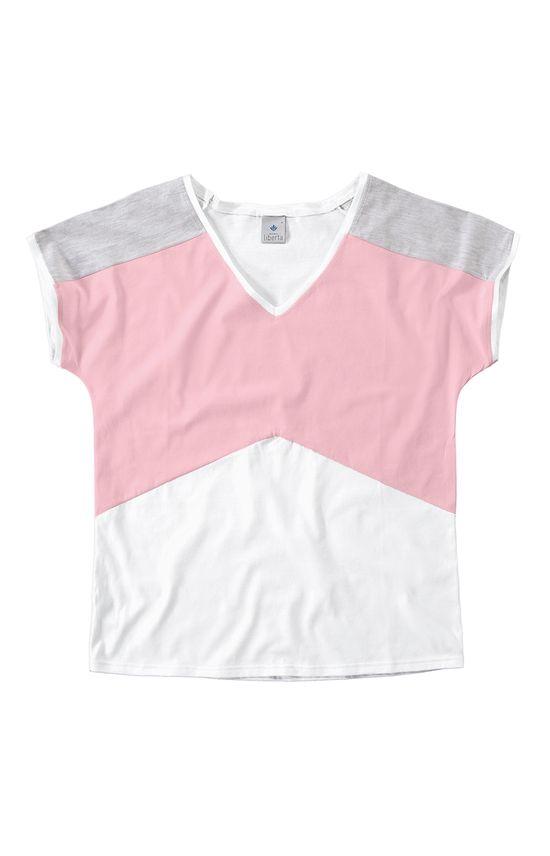 Blusa com Recortes Malwee Liberta Branco - GG
