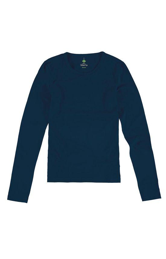 Blusa Cotton Light Azul Escuro - G
