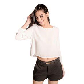 Blusa Cropped Lisa Colcci P