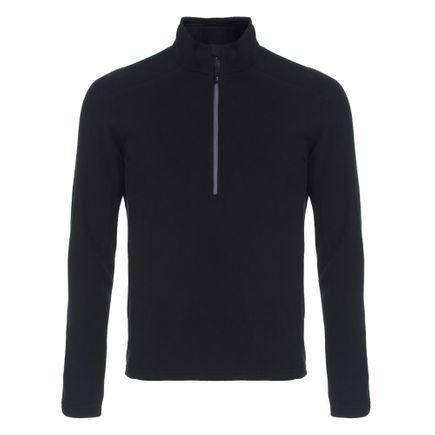 Blusa de Fleece para Frio Solo Masculina Preta Tam. P