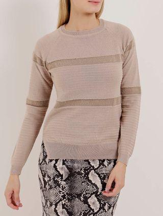 Blusa de Tricot Feminina Marrom