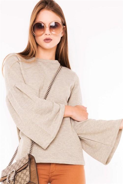 Blusa Feminina Moletinho com Lurex ML0630 - Kam Bess