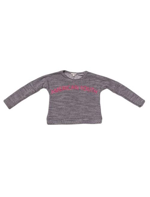 Blusa Infantil Calvin Klein Jeans Estampa Floco Preto - 6