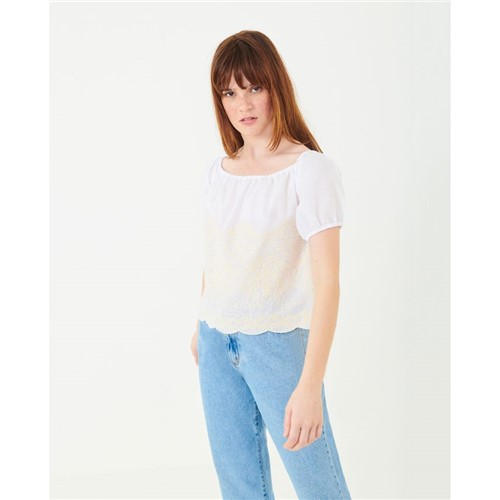 Blusa Laise Offwhite PP